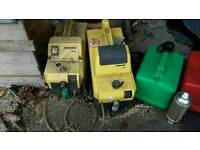 2 karcher pressure cleaners