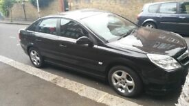 Black VAUXHALL VECTRA drives like new 1 year MOT FULLY SERVICED 97k - quick sale