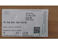 Pet Shop Boys - Royal Opera House - Wednesday 20th July - 1 x Orchestra Stalls Seat