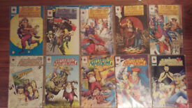 Archer + Armstrong Comics from 0 - 9 (10 comics)
