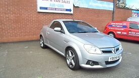 VAUXHALL TIGRA EXCLUSIVE 1.4 ONLY 37K MILES. FULL SERVICE HISTORY AND 12 MONTHS M.O.T