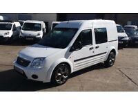 2012 / 12 Plate Ford Transit Connect 1.8TDCI T230 LWB HIGH ROOF CREW VAN Panel Van NO VAT