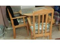 Kitchen table and 3chairs