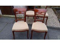 Stylish 4 chairs