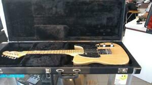 Upgraded American Standard Telecaster, Maple Fingerboard, Natural (Ash) Noiseless N3 , Tortoise pickguard and Loc