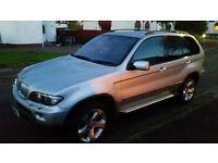 BMW X5 SPORT 4.4 v8 - 315BHP - 54 plate - Petrol / LPG - MOT'd - Needs some TLC