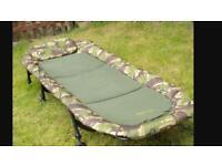 Wychwood carp fishing bedchair