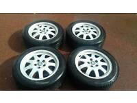 Jaguar or ford alloy wheels