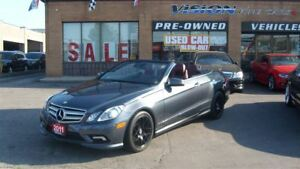 2011 Mercedes-Benz E-Class E350/NAVIGATION/BACKUP SENSOR/LEATHER