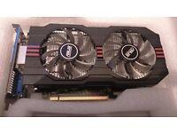 ASUS 750 Ti OC edition - 2GB - Read description.