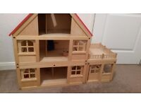 Wooden Dolls House - Plan Toy