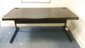 2 x lovely black office desks on a January sale just £30 each only