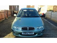 ROVER 25 WITH NEW MOT