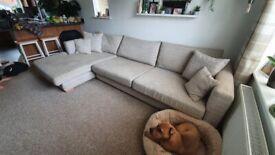 Large l-shape sofa