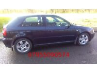 audi a3 1.9 tdi,03 reg,6 spped box