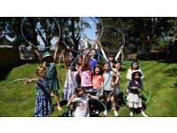 Kids Birthday Party / Kids Entertainment / Circus Party/ Hula Hoops