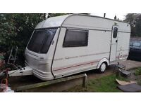 Coachman 2/3berth 1997 in very good condition no damp at all very clean out and Inside