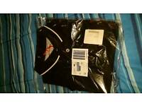 black polo shirt 4xl Eddie Flintoff
