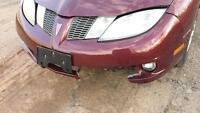03 to 05 sunfire front bumper cover
