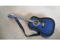 MARTIN SMITH ACOUSTIC STEEL STRUNG GUITAR - EXCELLENT CONDITION