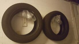 2 WINTER TYRES FOR SALE