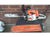 STHIL 024 WOODBOSS PETROL CHAINSAW