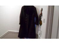 womans size 12 slimline sheepskin coat for sale. £30.00