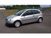 2004 Ford Fiesta 1.25 Finesse 3dr silver mot june 2017 low miles