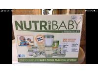 NutriBaby Bullet Food Making System