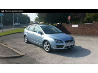 FORD FOCUS ZETEC 1.6 PETROL 57 PLATE TOP CONDITION 12 MONTHS MOT 3 MONTHS NATIOWIDE WARRANTY