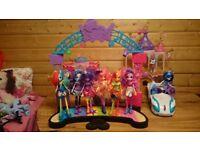 Equestria girls/Disney dolls