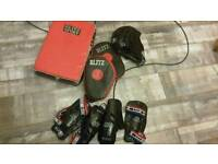 Child's martial arts sparring equipment