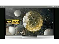 Sony Bravia KD55XD9305 55 inch 4K Ultra HD HDR 3D Smart LED Android TV.