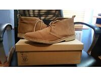 Suede Desert Boots (Size 10)