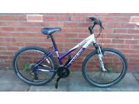 Ladies Trek 3700 mountain bike 16 inch aluminium frame, good working condition and ready to ride