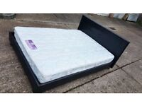 King size bed and mattress - can deliver