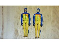 2 x Action Force Figures