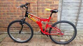 Bike Polaris 26 wheels size