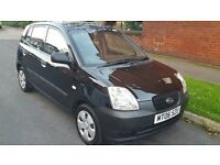 *BARGAIN* Kia Picanto 1.0s 2006 Black, Power Steering, Full Service History - IDEAL FIRST LITTLE CAR