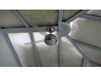 Conservatory Fan/Light