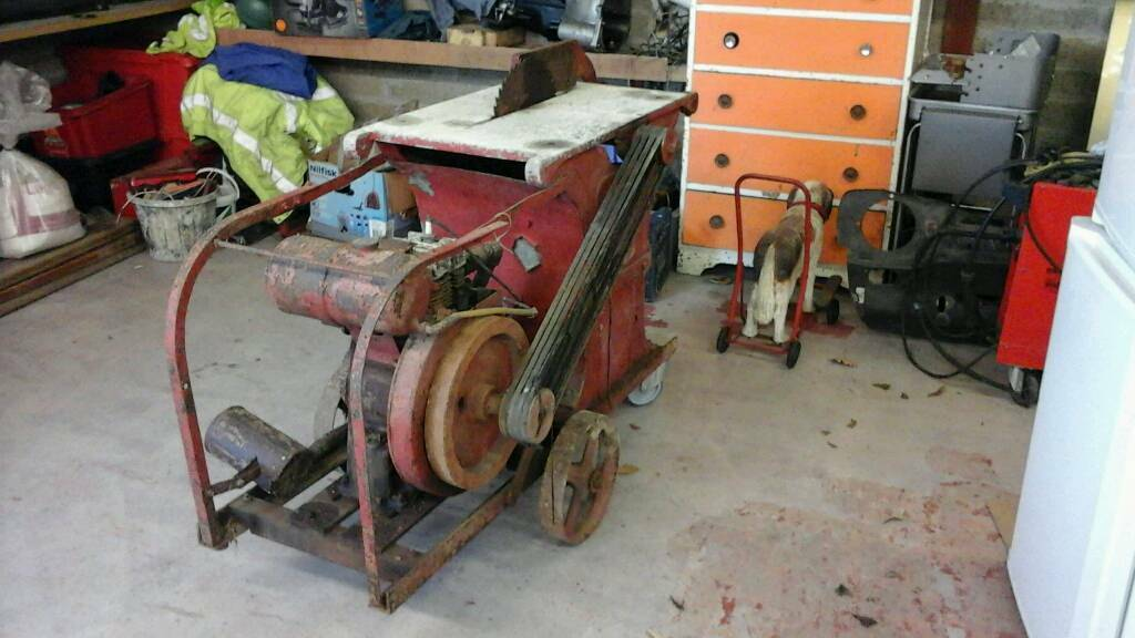 Vintage engine saw