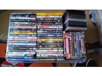 Large Box (110) of Assorted DVDS