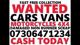 💷 WE BUY CARS 4x4 VAN ANY CONDITION SELL MY SCRAP FAST COLLECTION