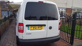 VW CADDY MAXI 1.6 TDI 102 BHP C20 COMBO 2011 61500 MILES *** NO VAT *** !!!!
