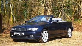 BMW 3 Series 2.0 320Cd SE 2dr JUST SERVICED | FREE WARRANTY 2006 (06 reg), Convertible Diesel