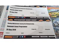 British Touring Car Championship Ticket