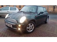 MINI ONE 1.6 AUTOMATIC PETROL 2004 ONE PREVIOUS OWNER FULL SERVICE HISTORY LOW MILEAGE