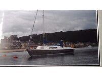 Yacht/sailing boat.