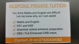 Maths and English Tutor & Accountancy Service.