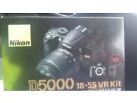 NIKON D5000 STILL IN BOX